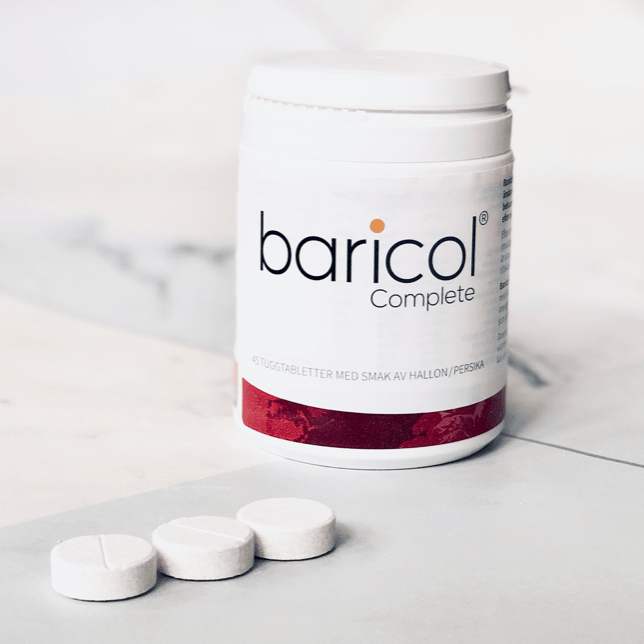 اقراص المضغ باريكول ملتي فيتامين للمتكممين